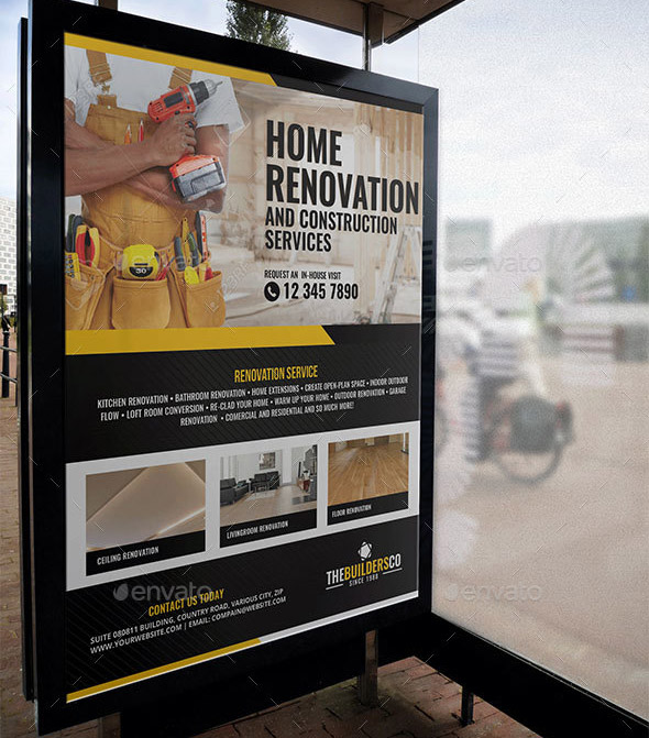 40 Nice Signage Amp Banner Templates For Small Business