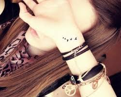 Cool Freedom Tattoo on Wrist