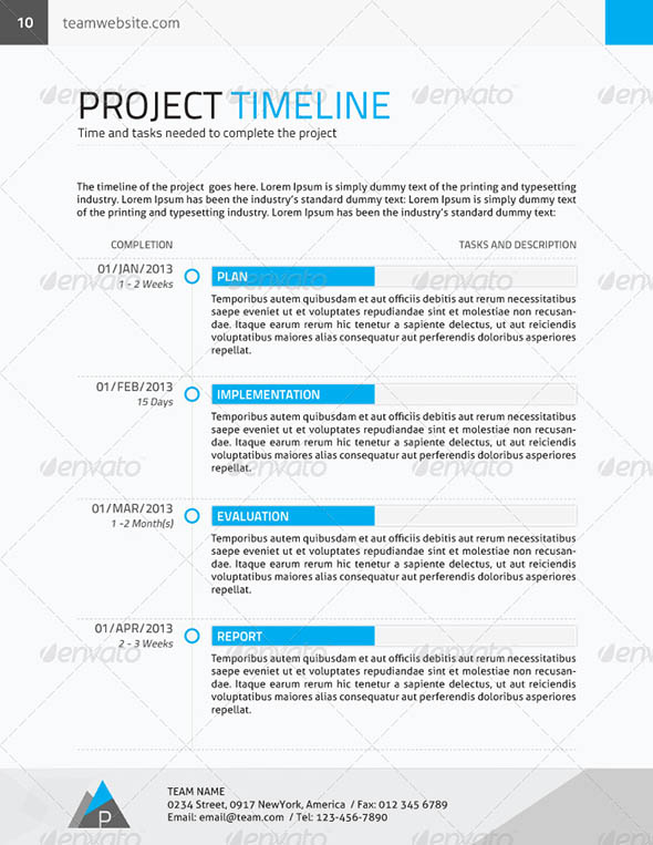 corporate proposal contract invoice
