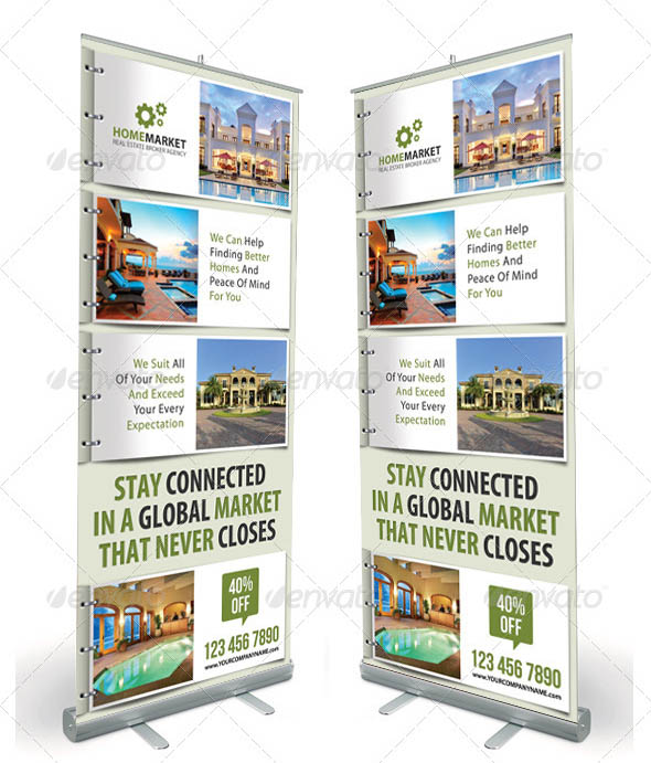 Corporate Real Estate Banner Template