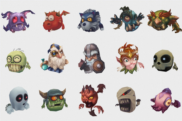 Micro Monster Heroes Mega Bundle