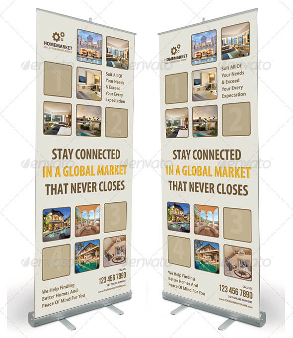 Real Estate Banner Template 02