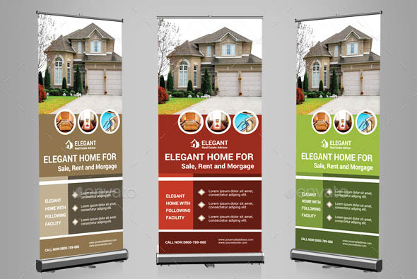 Real Estate Rollup Banners