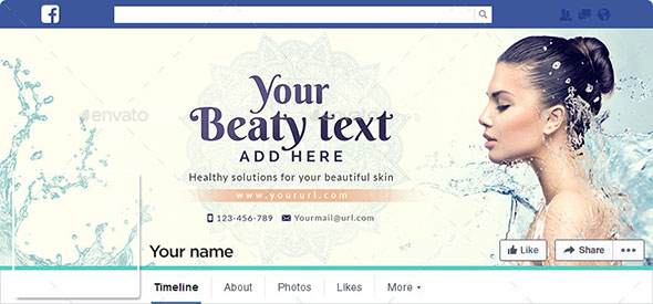 Beauty Care Facebook Cover
