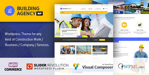 Building Agency Construction WordPress Theme