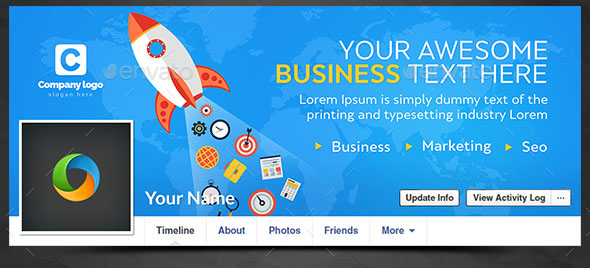 Business Facebook Cover 01
