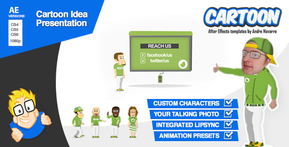 Cartoon Idea Presentation