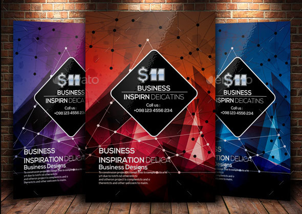 Creative Abstract Flyer Template 04
