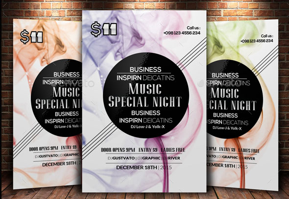 Creative Abstract Flyer Template Bundle