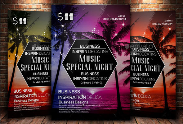 Creative Abstract Flyer Template