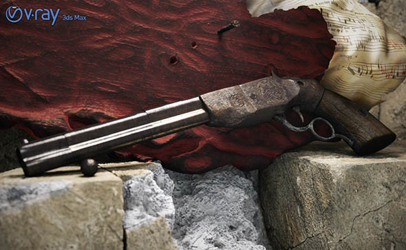 Decorative Antique Pistol