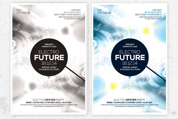 Minimal Abstract Flyer Templates 02