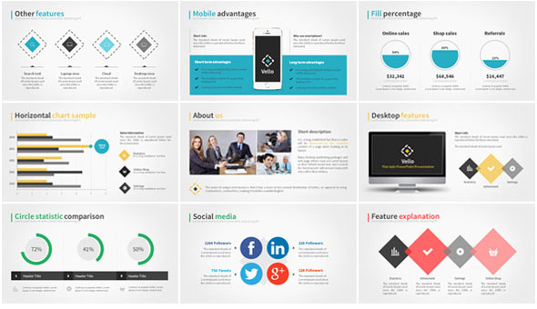 Modern PowerPoint Bundle Pack