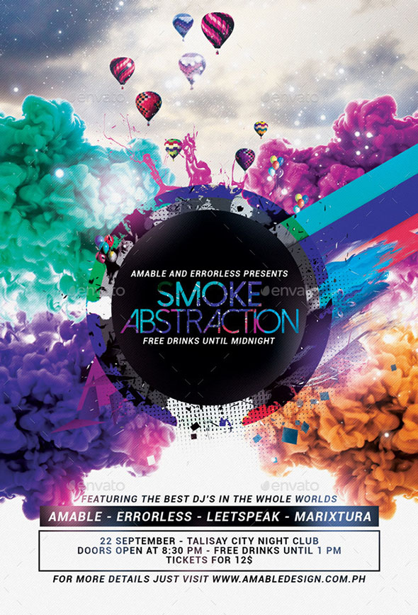 Smoke Abstraction Flyer