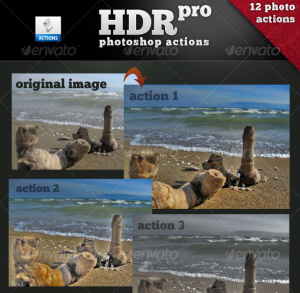 12 HDR pro Actions