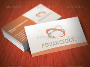 Advanced IT Business Cards