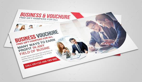 Business Gift Card Vouchre