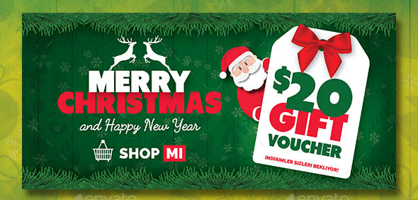 Christmas Gift Card Templates