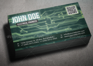 Circuit Board Business Card