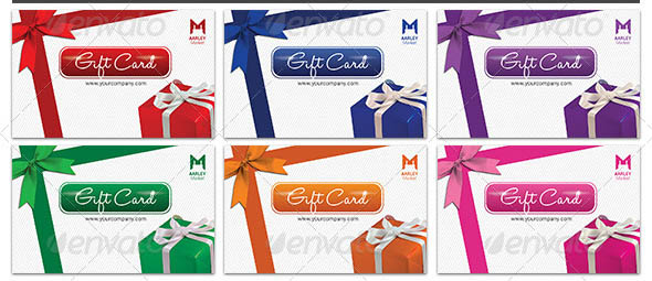 Colorfull Gift Cards
