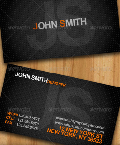Cool Business Cards - Horizontal and Vertical