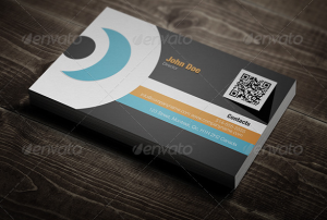 Corporate - Flat Design Business Card