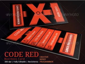 Creative Coder Businesscard