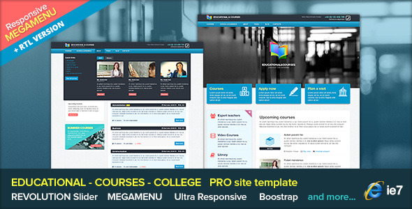 EDU - Educational College with Megamenu