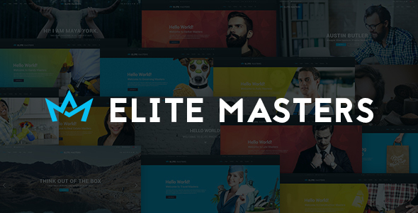 EliteMasters Multi-Purpose Website Template