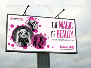Fashion Outdoor Banner 02