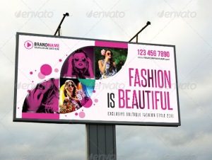 Fashion Outdoor Banner 03