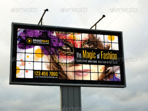 Fashion Outdoor Banner 06