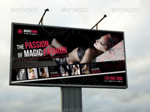 Fashion Outdoor Banner 12