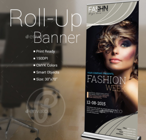 Fashion Show Roll-Up Banner13