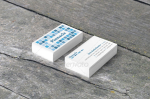 Fresh Clean Modern Minimalist Business Cards