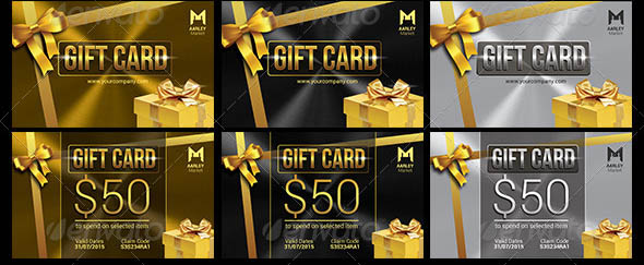 Golden Gift Cards