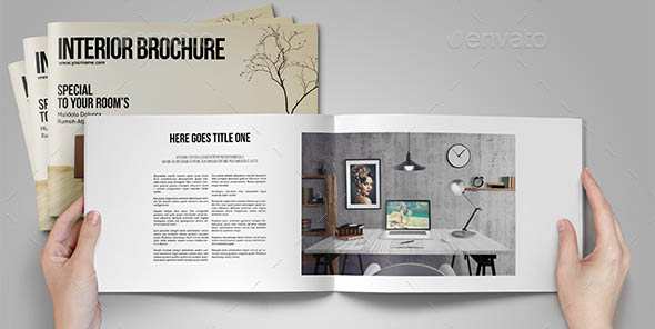 Interior Brochure A4 US Letter