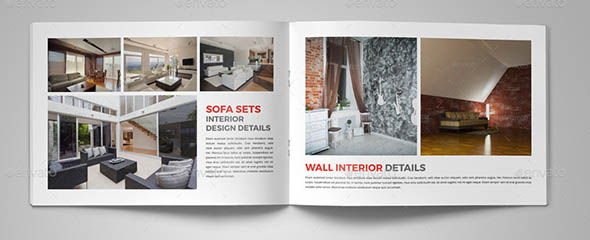 Interior Brochure Catalog InDesign Template