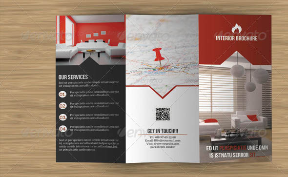 40 Beautiful Interior Brochure Templates Desiznworld