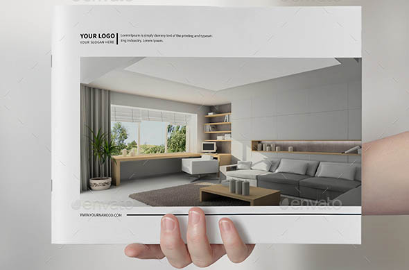 20 beautiful interior brochure templates desiznworld for Interior design brochure