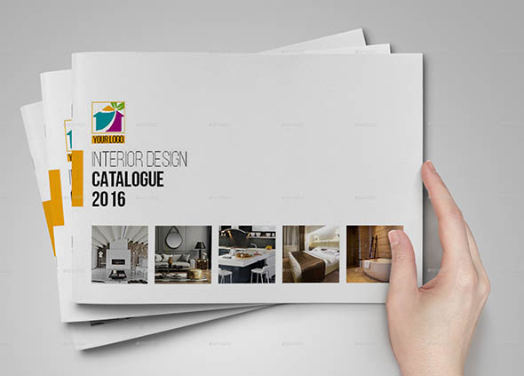 20 beautiful interior brochure templates desiznworld On interior design catalogue
