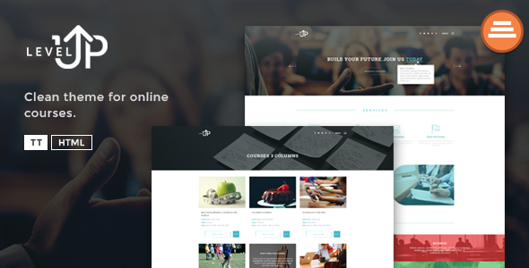 LevelUp A Educational Courses HTML Template