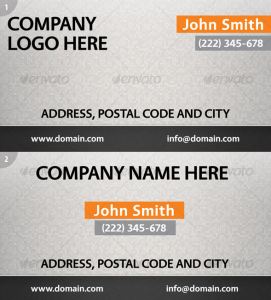 Modern Business Card Design, all sizes