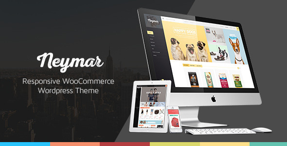 Neymar - Responsive WordPress eCommerce Theme