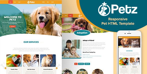 Petz-Responsive-HTML-Template Veterinary Newsletter Templates on veterinary medical form template, veterinary newsletter ideas, veterinary referral form template, veterinary new client form template, veterinary job application template, we love your pets template,