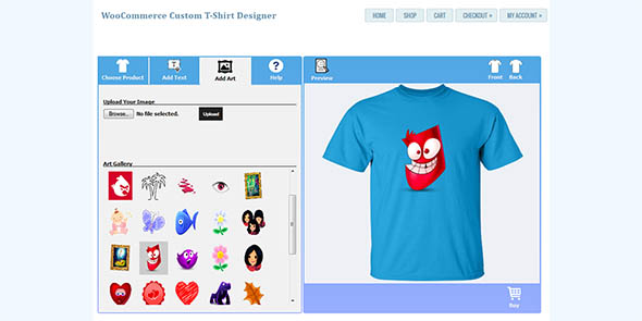 T Shirt Designer Woocommerce Plugin Nulled