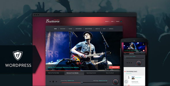 Beatheaven Music WordPress Theme