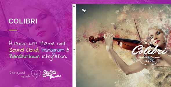 Colibri WP Theme for Busy Musicians