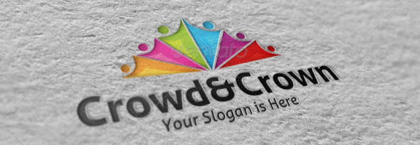 Crowd and Crown Logo