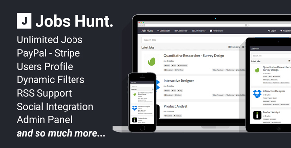 Jobs Hunt The Job Portal